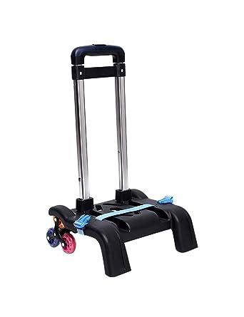 Zhhlaixing Carro para Mochilas 29 x 24 x 94cm Plegable Ligero Resistente 6 ruedas Trolley Cart: Amazon.es: Ropa y accesorios