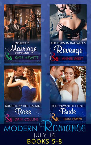 book cover of Modern Romance July 2016 Books 5-8