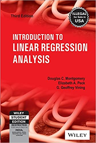 Buy Introduction To Linear Regression Analysis Book Online At Low