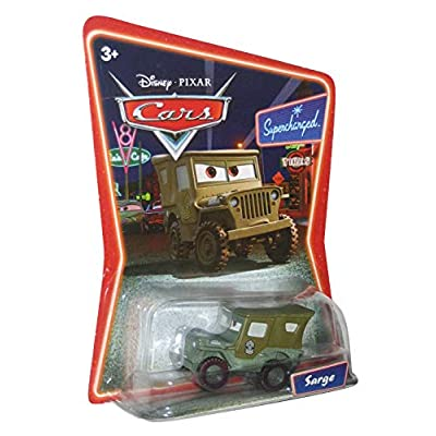 Disney Pixar Cars Supercharged Edition Sarge 1:55 Scale Mattel: Toys & Games