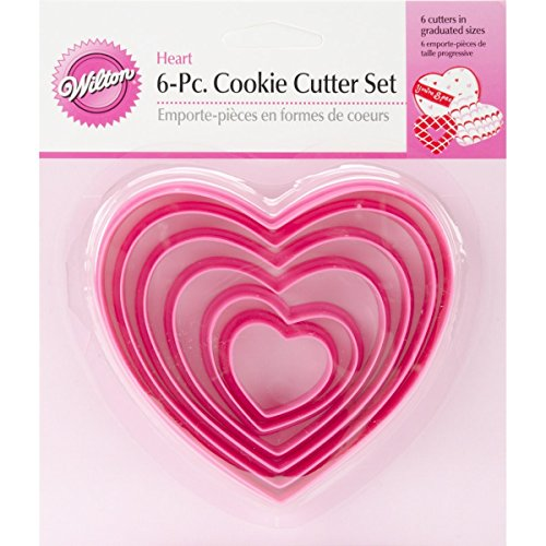 (Wilton Nesting Heart Cutter Set (2 Pack))