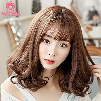 Amazon Com Ms Korea Sell Wig Short Hair And Long Hair Natural And