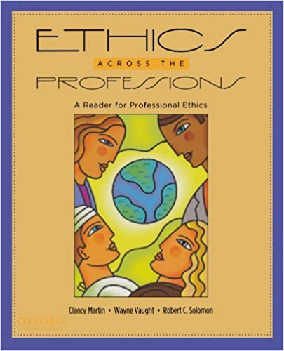 Amazon ethics across the professions a reader for ethics across the professions a reader for professional ethics 1st edition fandeluxe Images
