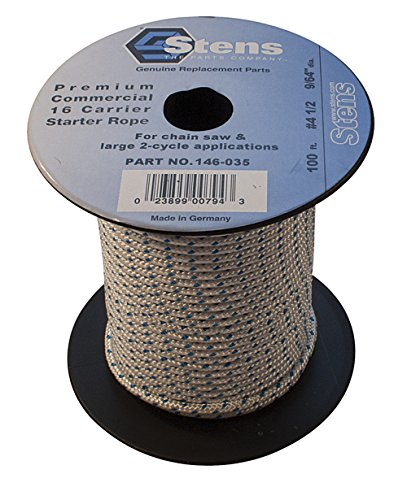 Stens 146-035 100ft Solid Braid Starter Rope from Stens