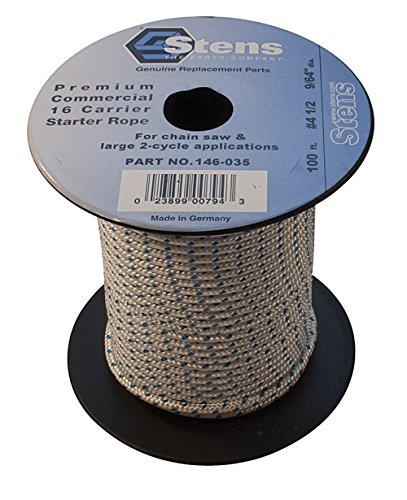 (Stens 100' Solid Braid Starter Rope, 4 1/2 Solid Braid, ea,)