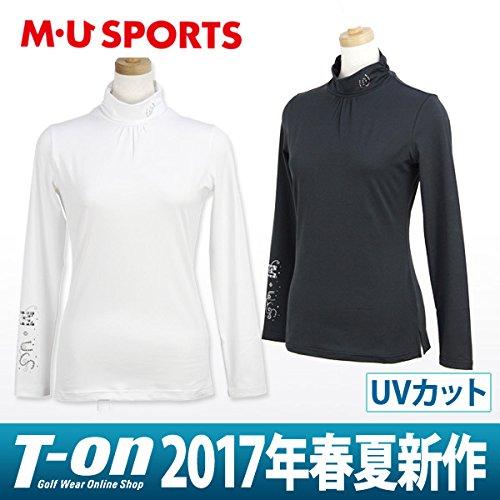 MU SPORTS(エム ユースポーツ) 2017SS 2017SSモデル レディース 長袖シャツ ホワイト 40 701V1404