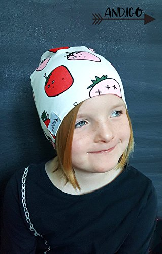 Toddler Children Kids Cotton Baby Beanie Hat for Girls and Boys Set of Two