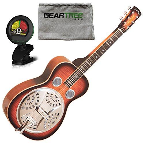 - Gold Tone PBS-M Paul Beard Signature Solid Mahogany Squareneck Resonator Guitar