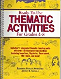 img - for Ready-To-Use Thematic Activities for Grades 4-8 book / textbook / text book