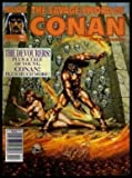 THE SAVAGE SWORD OF CONAN - Volume 1, number 182 -  February 1991: The Devourers; Matters of Life and Death; The Man Who Would Be King