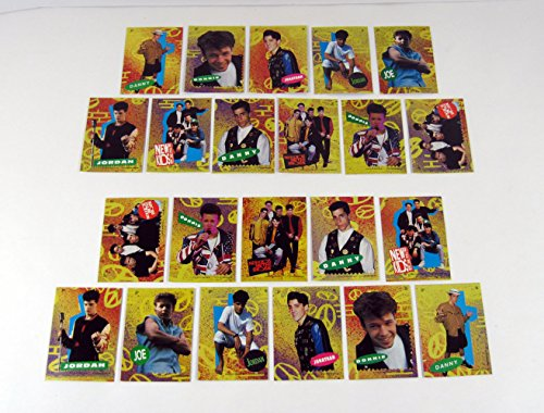 1990 Topps New Kids on the Block Series 2 Sticker Set with Both Variations (22) ()