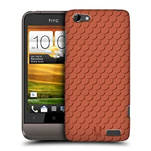 Head Case Designs European Scale Roof Pattern Protective Snap-on Hard Back Case Cover for HTC One V by ruishername