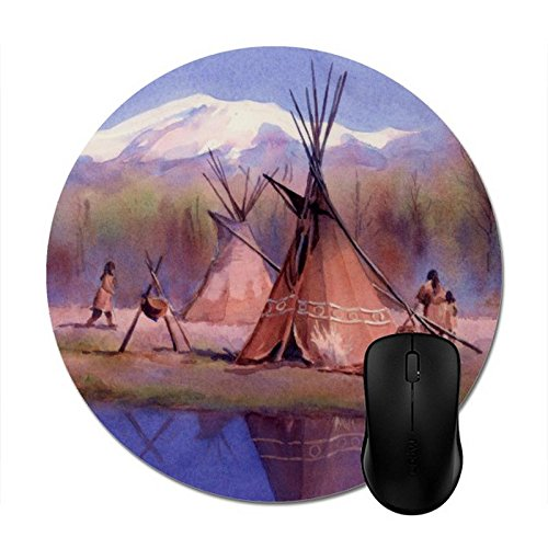 - Starings Mouse Pads Late Summer Tipi Camp by Sharon Sharpe Mouse Mat