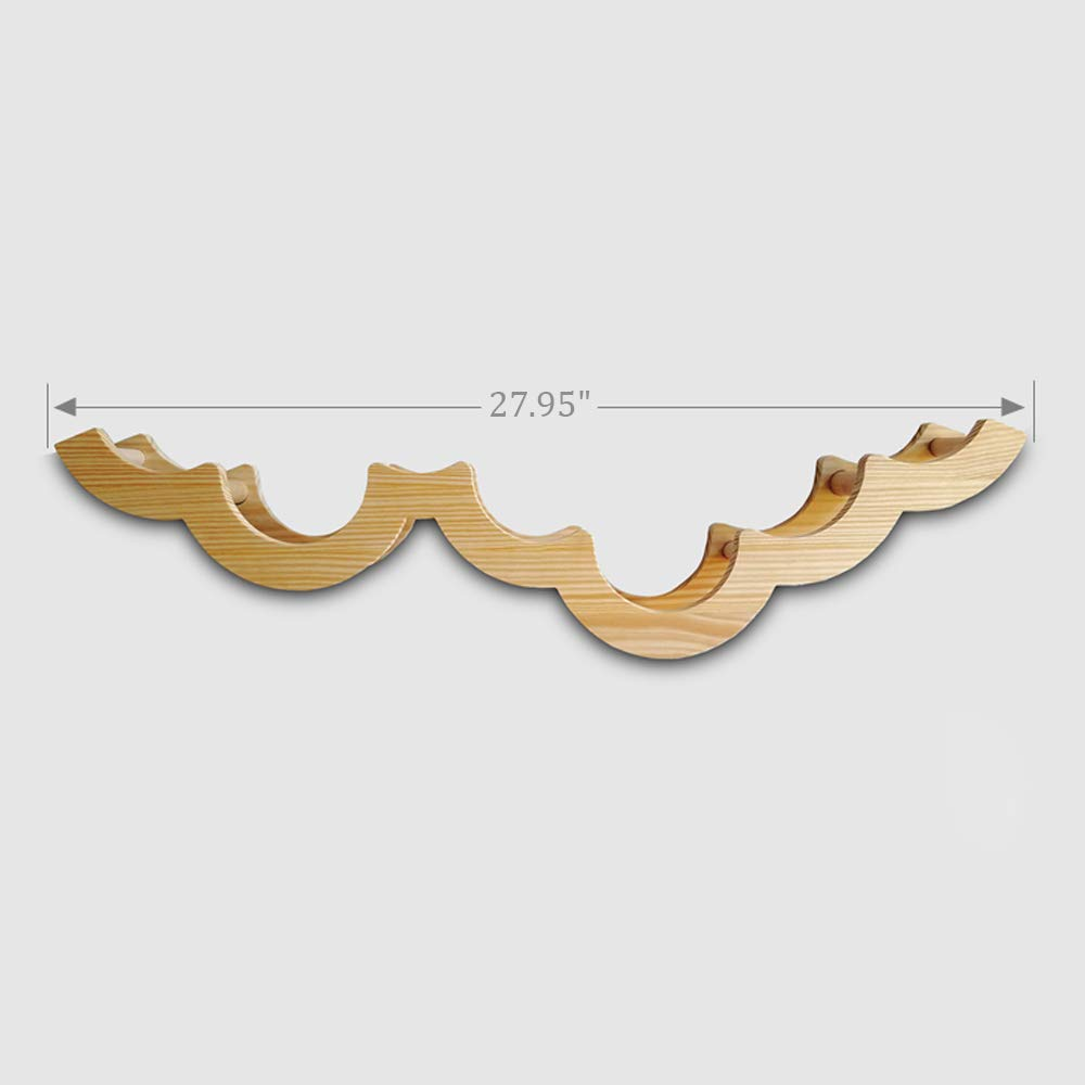 Gecious Cloud Toilet Paper Holder Wall Mount, Wood by Gecious (Image #6)