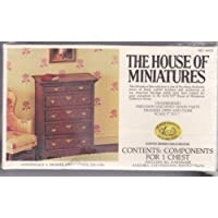 The House of Miniatures: Chippendale 6 Drawer Chest