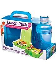 مكعب الغداء ماكس حقيبة صندوق الغداء من سيستيما، لون أزرق - ارتفاع 25.4 سم × عرض 4.6 سم × عمق 16.8 سم