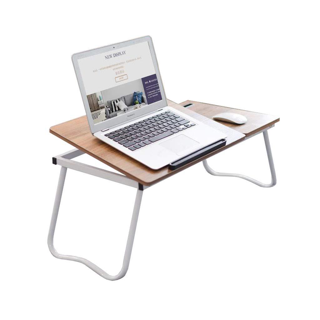 ラップトップベッドテーブル 折りたたみ可能な角度調節可能なポータブル人間工学に基づいたノートブックトレイ軽量   B07KR7D23P
