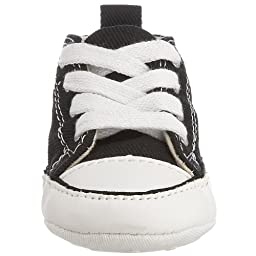 Converse Baby Boys\' Chuck Taylor First Star Hi (Infant) - Black/White - 2
