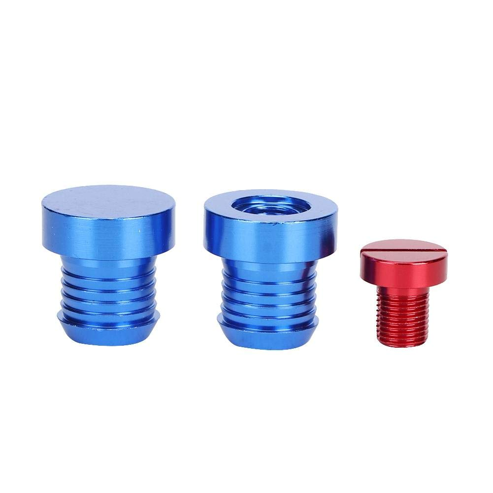 Suuoneefor EGR Cooler Delete Bungs Valve Blanking Plugs for EGR Cooler Thermostat Removal Fit for 3 Series E93 325d