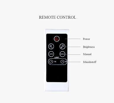 Amazon.com: Edelin - Lámpara de proyección LED con diseño de ...