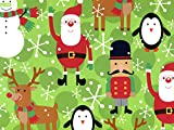 NW16894H24 * Holiday Fun 24''x 417' Roll Gift Wrap