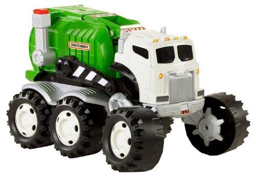 Mattel Matchbox Stinky The Garbage Truck - Mattel R0858 - Stinky The Garbage Truck Toys