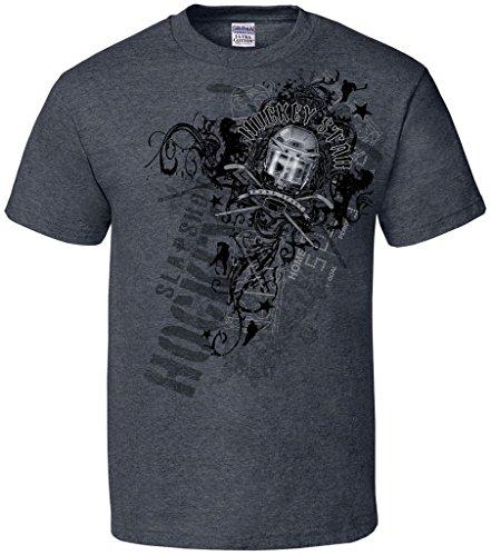 Hockey Star Short Sleeve T-Shirt-X-XL
