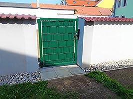 ILESTO Rollo de PVC para Valla Jardín & Cubre Vallas Jardín para Vallas Metálicas | Color: Verde | Longitud: 35 metros x 19 cm: Amazon.es: Jardín