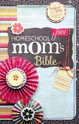 NIV, Homeschool Mom's Bible, Hardcover: Daily Personal Encouragement