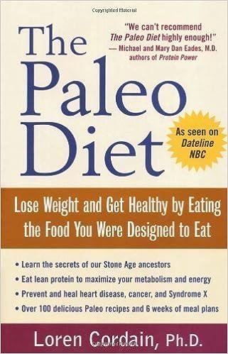 the paleo diet loren cordain book