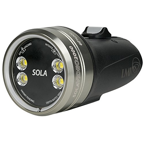 Light & Motion SOLA Video 2000 F Underwater Video Light by Light and Motion