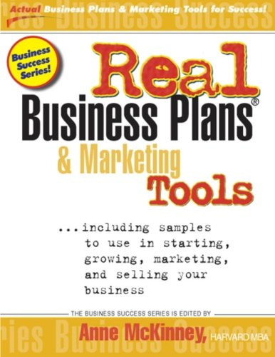 Download Real Business Plans and Marketing Tools pdf
