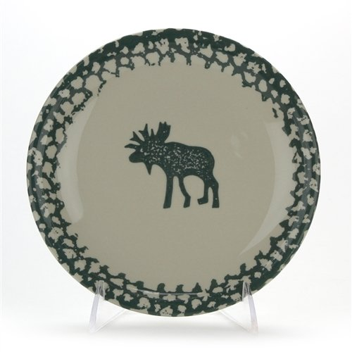 Moose Country by Tienshan, Stoneware Salad Plate