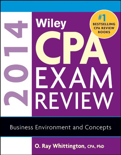 Read Online Wiley CPA Exam Review 2014 Business Environment and Concepts pdf epub