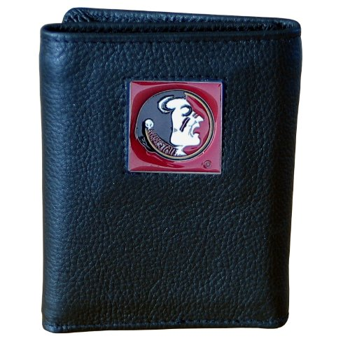 Florida St. Seminoles Genuine Leather Tri-fold Wallet