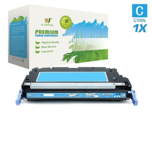 111 Cyan Toner Cartridge (AZ Compatible with Canon 111 (1659B001AA) Cyan Toner Cartridge for Canon LBP5300, 5360 Color Image Class MF9150c, MF9170c, MF9220C, MF9280C, MF9150c 22PPM, Color Image CLASS MF9170c 22PPM)