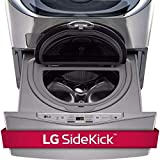LG WD100CV 1.0 Cu. Ft. Graphite SideKick Pedestal Washer