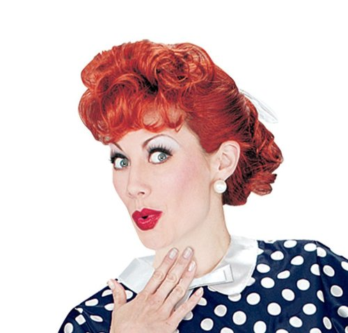 Halloween FX I Love Lucy Adult Wig]()