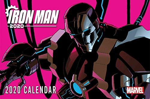 Marvel Comics 2020 Promotional Wall Calendar Iron Man 2020 Avengers X-men Spider