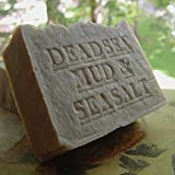 All Natural Dead Sea Mud Soap-Shea Butter and Dead Sea Salt (Exfoliate) Luxury Skin Care Handmade Fragrance Free.