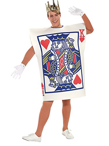 Rubie's Men's King of Hearts Costume, As Shown, One Size]()