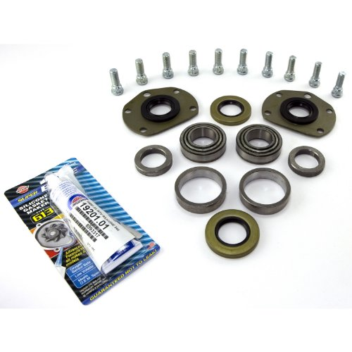 Omix-Ada 16536.06 One Piece Axle Conversion Bearing and Hardware Kit