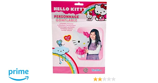 WDK Partner A1100247 - Muñeca de Hello Kitty (Inflable): Amazon.es ...