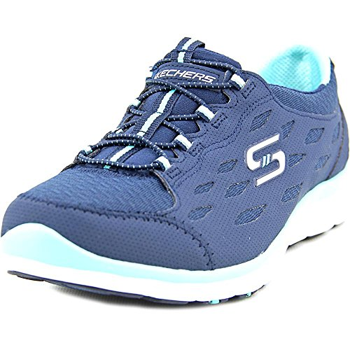 Skechers Sport Women's Womens 22605 Hit It Big Full Circle/Navy/Green opkNYClZ8U