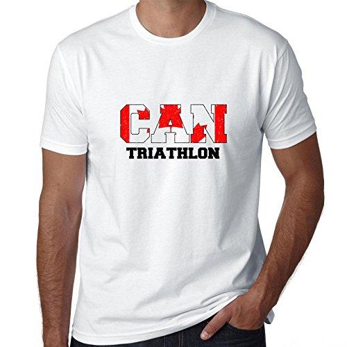 Canada Triathlon - Olympic Games - Rio - Flag Men's - Triathlon Apparel Canada