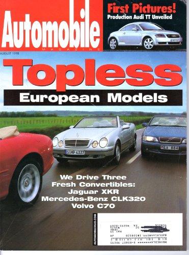 Automobile Magazine August 1998