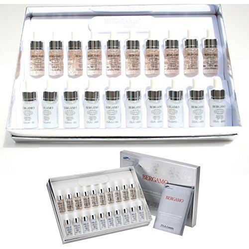 [Bergamo] Snow White Vita Whitening Perfection Ampoule Set (13ml20ea) / Korean Cosmetics
