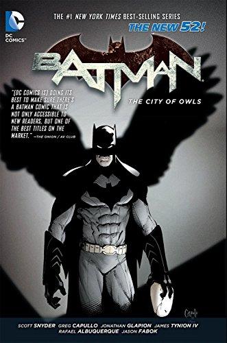 Batman Vol. 2: The City of Owls (The New 52) (Batman: the New 52!)