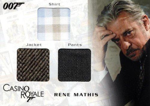 Costume James Bond Casino Royale (James Bond in Motion - Rene Mathis' Shirt, Jacket & Pants Costume Card TC04)