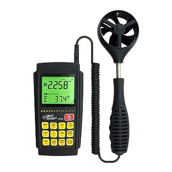 Traioy Anemómetro Digital Alta precisión Velocidad del ...